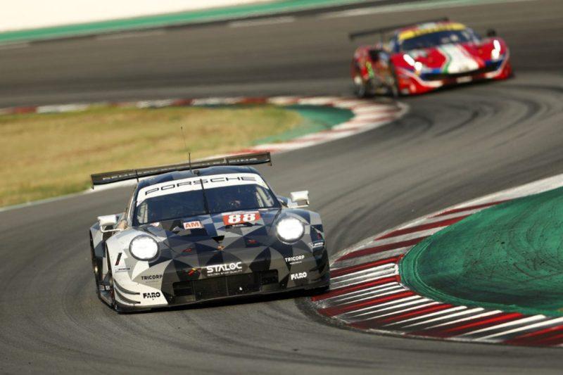 Porsche 911 RSR, Dempsey Proton Racing (88), Thomas Preining (A), Adrien De Leener (B)