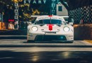 The new Porsche 911 RSR presented at Goodwood FOS