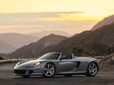 2005 Porsche Carrera GT RM Sotheby Monterey Silver Metallic