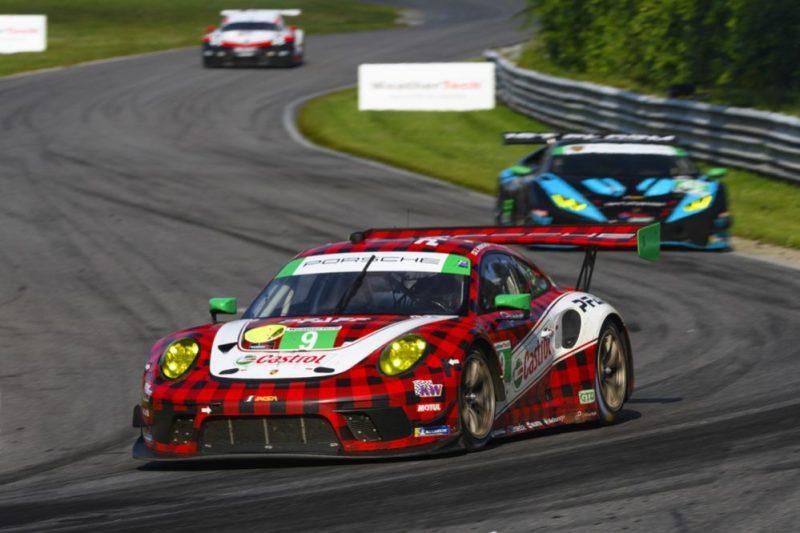 Porsche 911 GT3 R, Pfaff Motorsports (9), Matt Campbell (AUS), Zacharie Robichon (CDN)