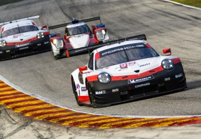 Porsche GT Team defends championship lead with podium result in the IMSA race at Road America