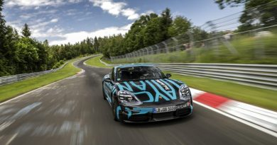 Video : Porsche Taycan sets new record time at the Nürburgring