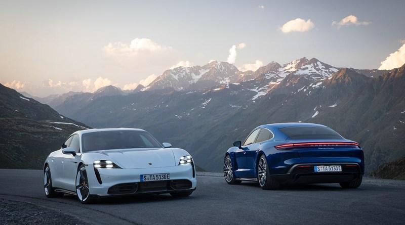 World premiere Porsche Taycan