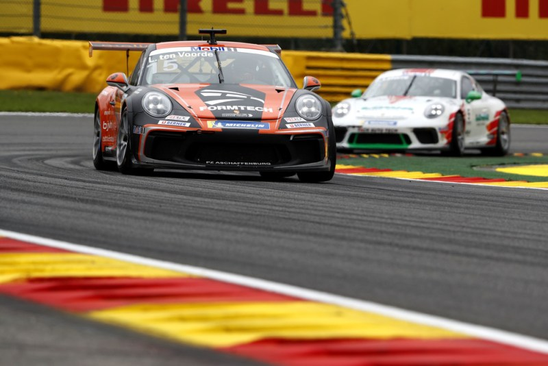 Porsche 911 GT3 Cup, Larry ten Voorde (NL), Porsche Mobil 1 Supercup, Spa-Francorchamps 2019