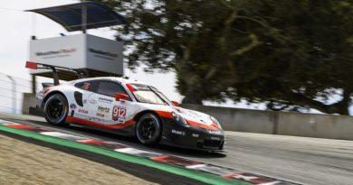 Porsche 911 RSR (912), Porsche GT Team - Earl Bamber (NZ), Laurens Vanthoor (B) -2