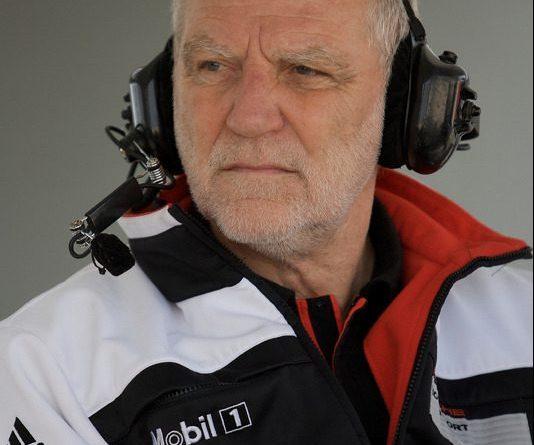 Porsche racing engineer Roland Kussmaul