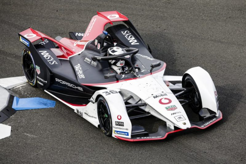André Lotterer, Porsche 99X Electric in Valencia