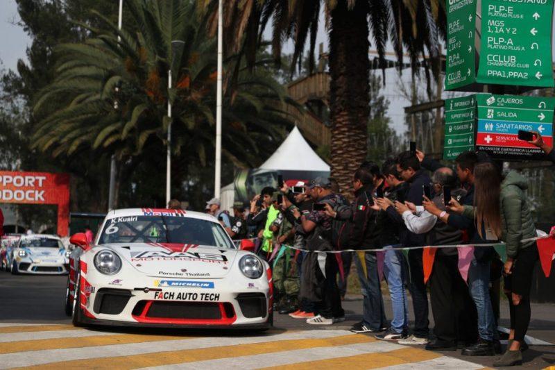 Porsche 911 GT3 Cup, Kantadhee Kusiri (T), Porsche Mobil 1 Supercup, Mexico 2019