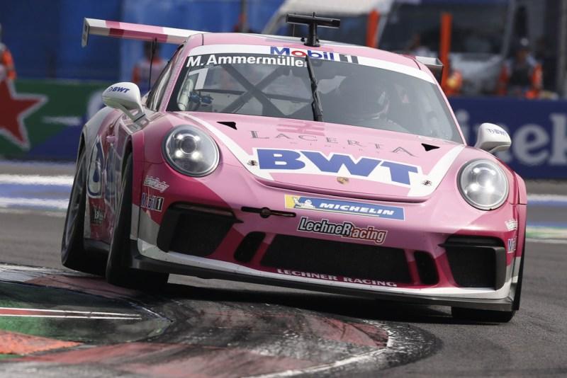 Porsche 911 GT3 Cup, Michael Ammermüller (D), Porsche Mobil 1 Supercup, Mexico 2019