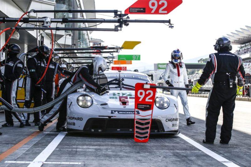 Porsche 911 RSR, Porsche GT Team (92), Michael Christensen (DK), Kevin Estre (F) - Fuji