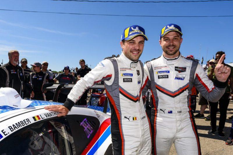 Porsche GT Team Earl Bamber (NZ), Laurens Vanthoor (B) -3