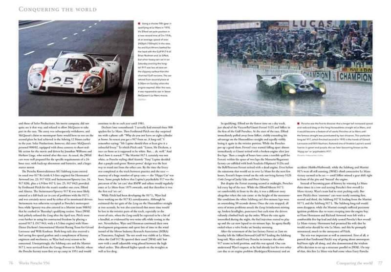 Works Porsche 956 - The definitive history - Serge Vanbockryck