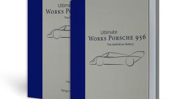 Works Porsche 956 - the definitive history by Serge van Bockryck