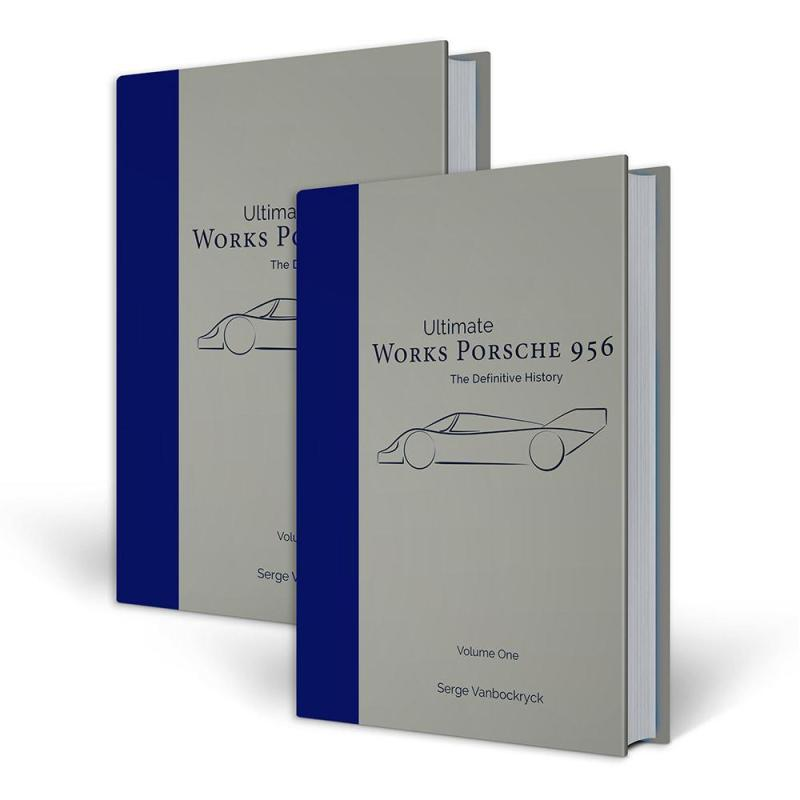 Works Porsche 956 - the definitive history Book Cover
