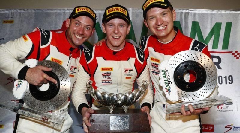 Frikadelli Racing Team (31), Nick Tandy (GB), Dennis Olsen (N), Mathieu Jaminet (F) (l-r)