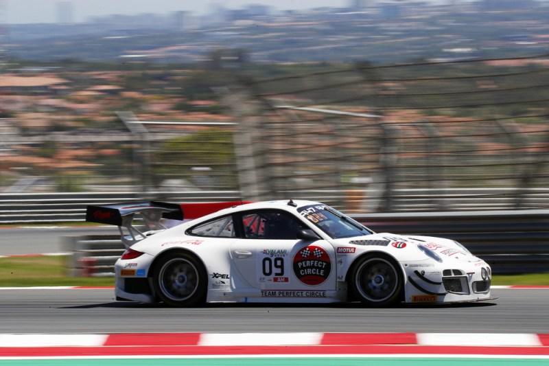 Porsche 911 GT3 R (997), Team Perfect Circle (09), Andre Bezuidenhout (ZA), Franco Scribante (ZA), Silvio Scribante (ZA)