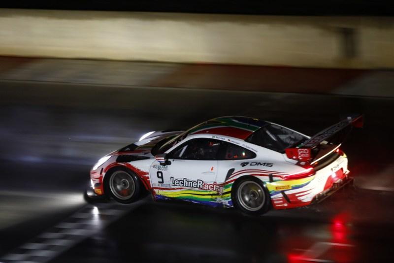 Porsche 911 GT3 R, Lechner Racing (9), Saul Hack (ZA), Lars Kern (D), Dylan Pereira (LUX)