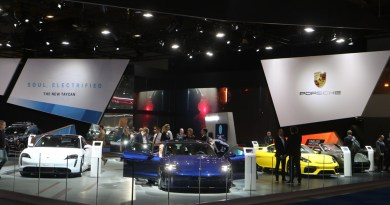 Porsche at the Auto Salon Brussels