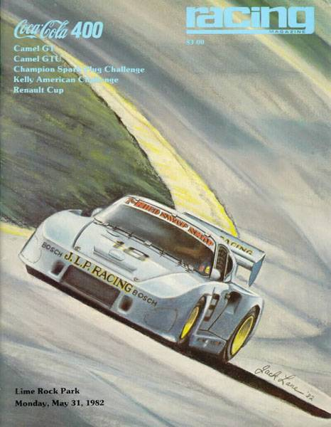 Coca Cola 400 - Lime Rock 1982