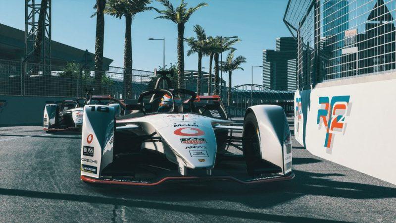Formula E Race at Home Hongkong