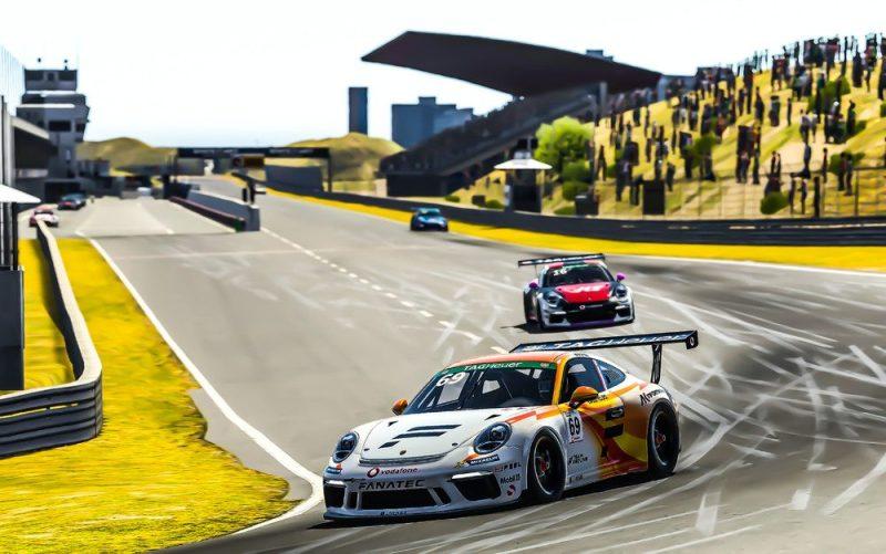 Porsche 911 GT3 Cup, Max Verstappen (NL), number 69, Porsche TAG Heuer Esports Supercup, 2020