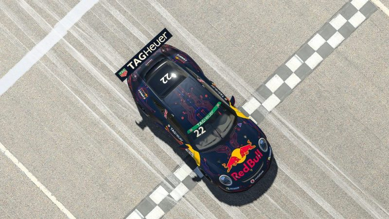 Porsche 911 GT3 Cup, Sebastian Job (GB), number 22, Porsche TAG Heuer Esports Supercup, 2020