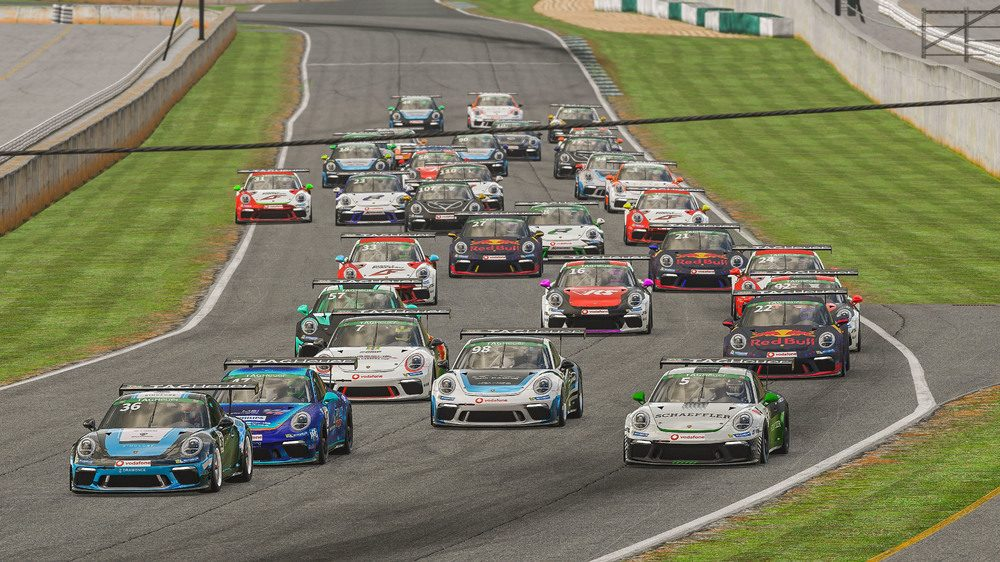 photo of A preview of the 1st race of the new season in the Porsche TAG Heuer Esports Supercup in Interlagos image