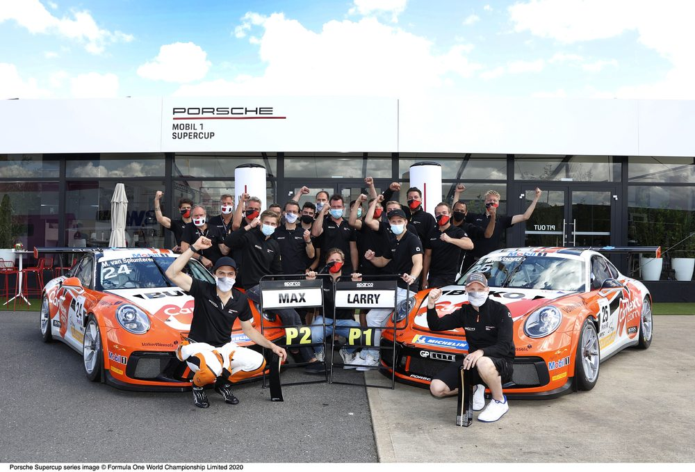Impressive win for Larry ten Voorde in the Porsche Supercup at Silverstone