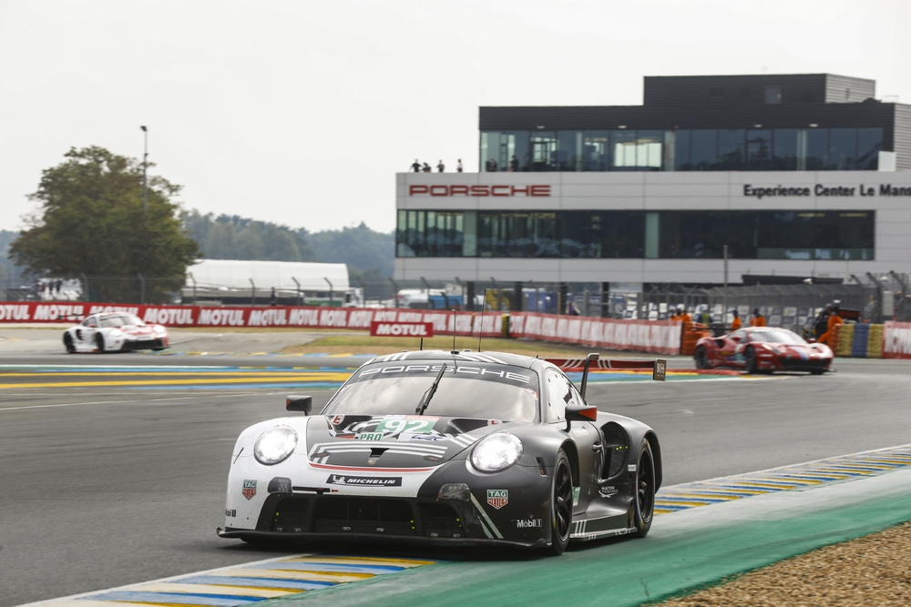 Bad luck for the Porsche factory teams but customer team Dempsey Proton Racing brings a Porsche on the podium at the…