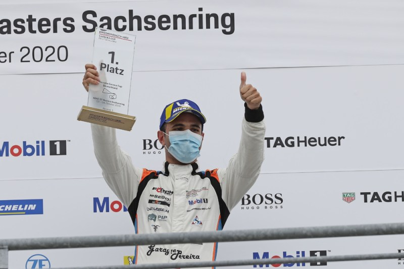 1st victory for Dylan Pereira in a Porsche Carrera Cup race