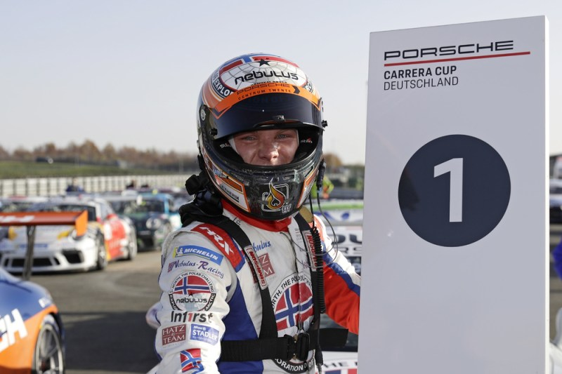 Larry ten Voorde (NL), Nebulus Racing by Huber, champion of the Porsche Carrera Cup Deutschland, Oschersleben 2020