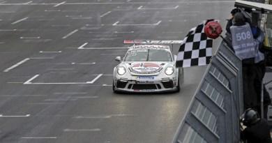 3rd victory of the season for Larry ten Voorde in Porsche Carrera Cup Deutschland