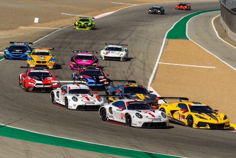 Porsche 911 RSR, Porsche GT Team (#912), Earl Bamber (NZ), Laurens Vanthoor (B)