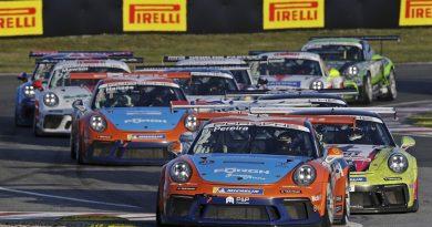 Start- Porsche Carrera Cup Deutschland, Oschersleben 2020