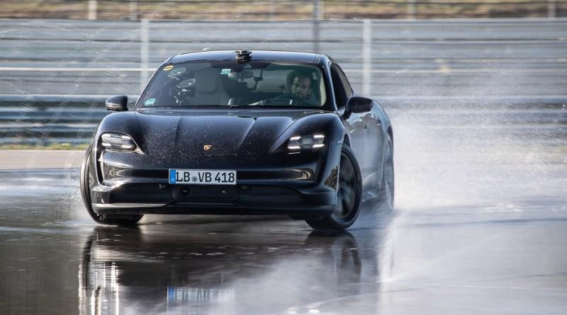 Porsche Taycan drift Guinness World Record