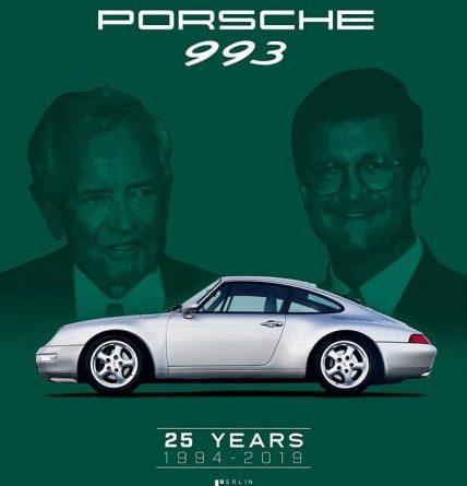 Porsche 993 25 years Signature Edition Tony Hatter
