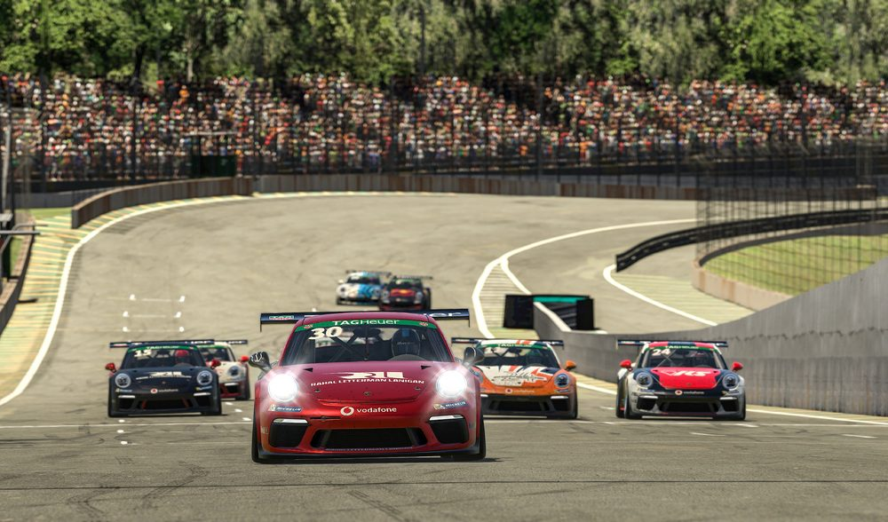 photo of 2 races and 2 winners in the season-opening round of the Porsche TAG Heuer Esports Supercup at Interlagos image