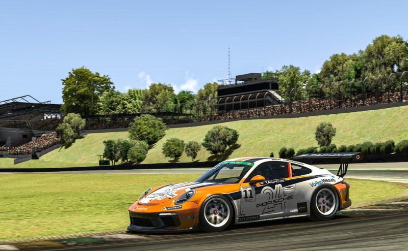 Porsche 911 GT3 Cup, Max Benecke (D), #11, Porsche TAG Heuer Esports Supercup, 2021
