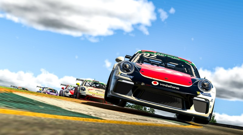 Porsche 911 GT3 Cup, Joshua Rogers (AUS), #92, Porsche TAG Heuer Esports Supercup, 2021 2