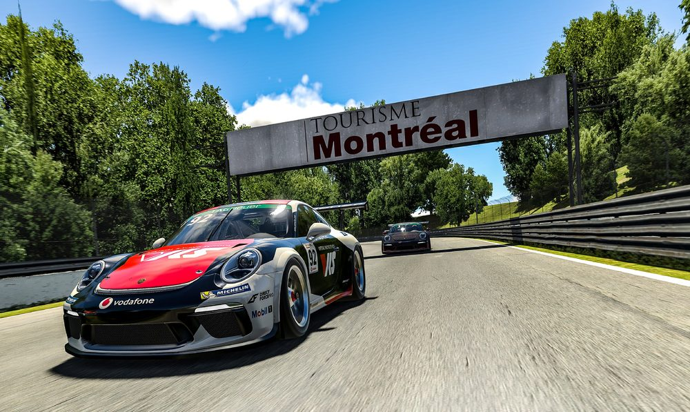 Mitchel DeJong takes light-to-flag victory in main race of the Porsche TAG Heuer Esports Supercup in Montreal