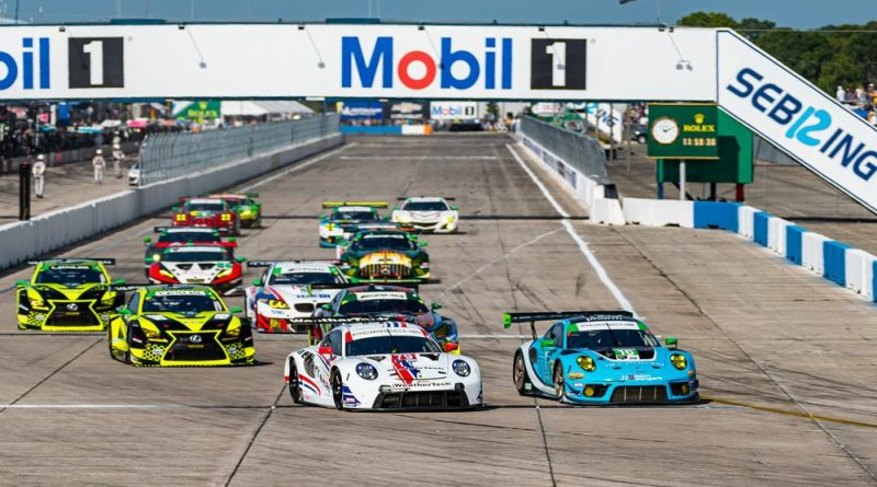 2021 Sebring 12H victory Porsche Customer Teams