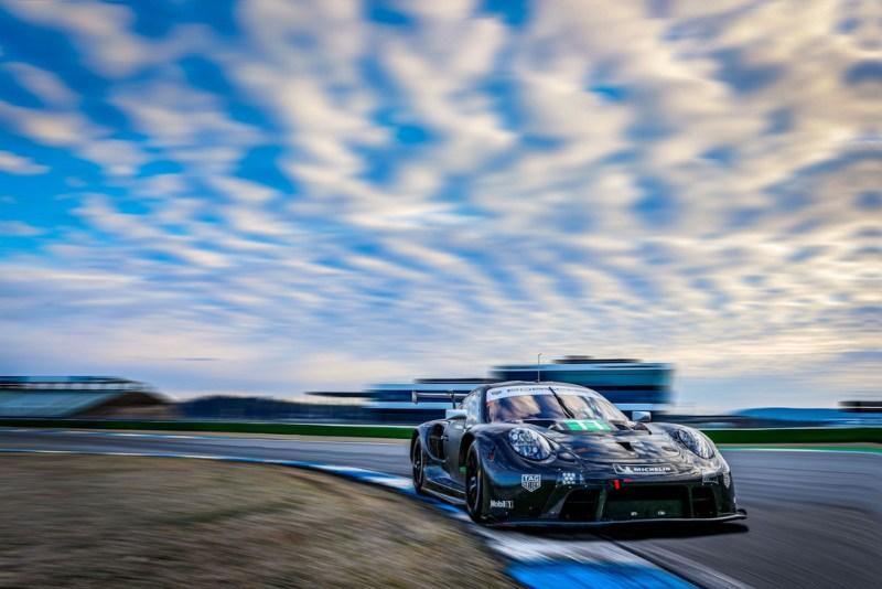 Porsche 911 RSR (Test Hockenheimring, 2021)