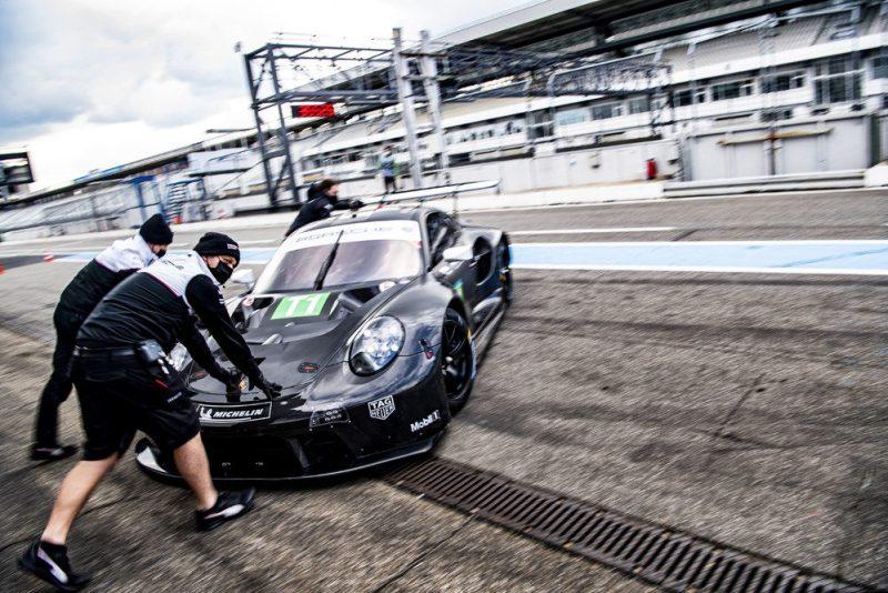 Porsche 911 RSR (Test Hockenheimring, 2021
