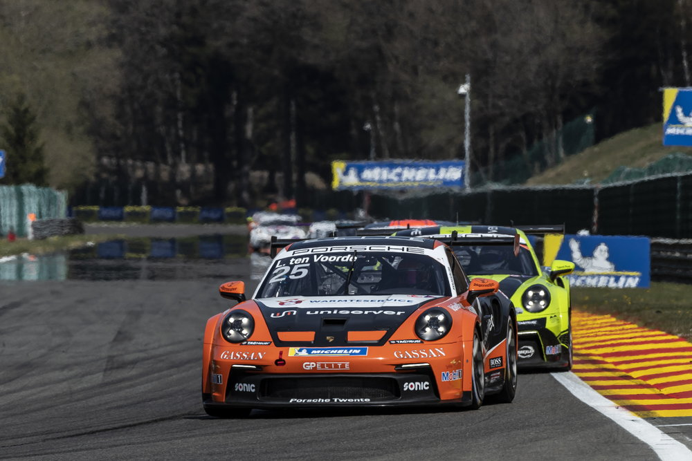 Larry ten Voorde starts the Porsche Carrera Cup Germany season perfectly with a 2nd victory in Spa.