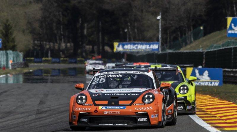 Porsche 911 GT3 Cup, Larry ten Voorde (NL), Porsche Carrera Cup Deutschland, Spa-Francorchamps 2021