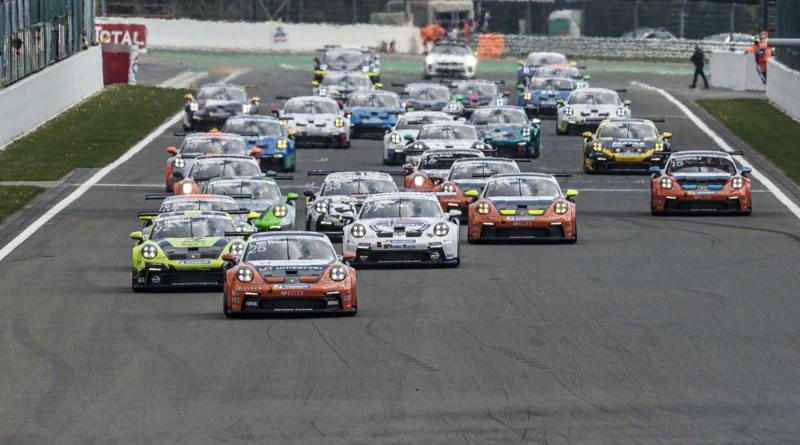 Start- Porsche Carrera Cup Deutschland, Spa-Francorchamps 2021