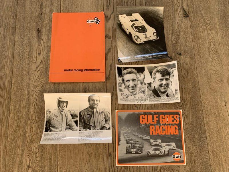 Collection Porsche 917 literature