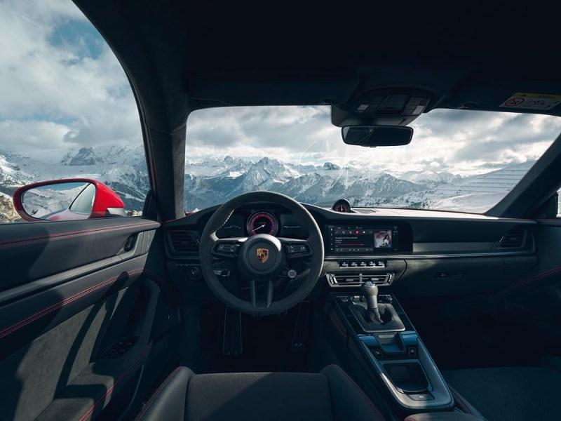 Interior Porsche 911 Carrera GTS