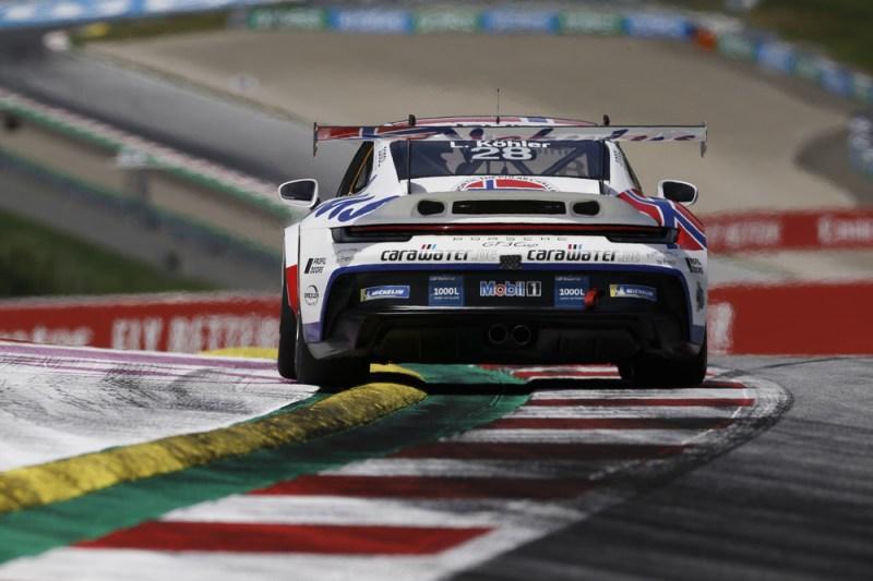Porsche 911 GT3 Cup, Leon Köhler (D), Porsche Mobil 1 Supercup, Spielberg 2021