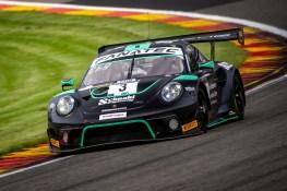 Porsche 911 GT3 R, Schnabl Engineering (#3), Michael Christensen (DK), Frederic Makowiecki (F), Dennis Olsen (N)